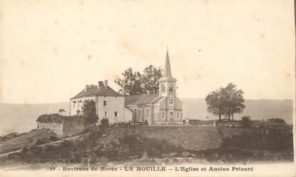 """/ CPA FRANCE 39 """"La Mouille, l'église et ancien prieuré"""""""