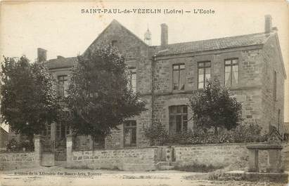 "CPA FRANCE 42 ""Saint Paul de Vézelin"""