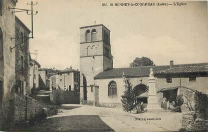 """CPA FRANCE 42 """"Saint Bonnet le Courreau, L'Eglise """""""