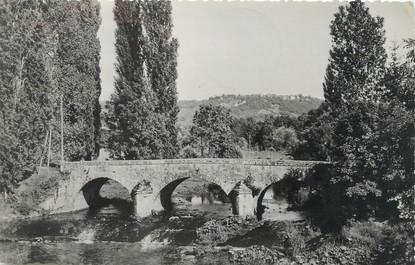 """/ CPSM FRANCE 39 """"Domblans, pont sur la Seille"""""""
