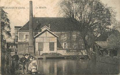 """/ CPA FRANCE 39 """"Chaussin, le moulin"""""""