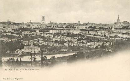 "/ CPA FRANCE 16 ""Angoulême, vue de Saint Martin"""