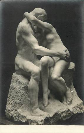 "/ CPA NU / MUSEE DU LUXEMBOURG 66 ""A. Rodin, le Baiser"""