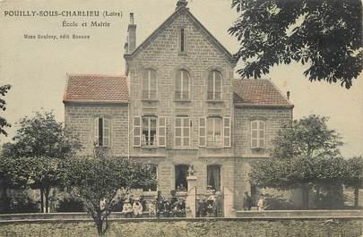 "CPA FRANCE 42 ""Pouilly sous Charlieu"""