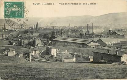"CPA FRANCE 42 ""Firminy, vue panoramique des usines"""