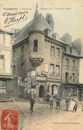 """CPA FRANCE 22 """"Guingamp, ancienne maison de la Duchesse Anne"""""""