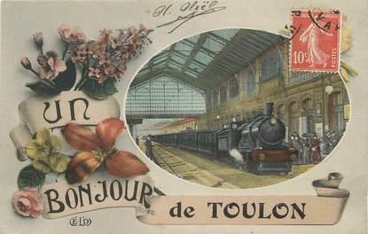 """/ CPA FRANCE 83 """"Toulon"""""""