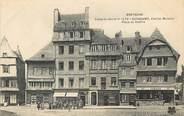"""22 Cote D'armor CPA FRANCE 22 """"Guingamp, vieilles maisons, place du centre"""" / BOULANGERIE / TABACS"""