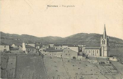 """CPA FRANCE 42 """"Marcoux, vue générale"""""""