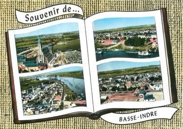 """/ CPSM FRANCE 44 """"Souvenir de Basse Indre"""""""