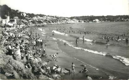 "/ CPSM FRANCE 83 ""Bandol, la plage dorée"""