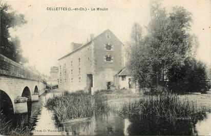 """CPA FRANCE 41 """"Cellettes, le Moulin"""""""