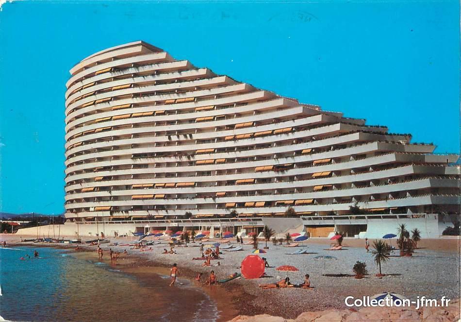 Cpsm France 06 Villeneuve Loubet Plage Marina Baie Des