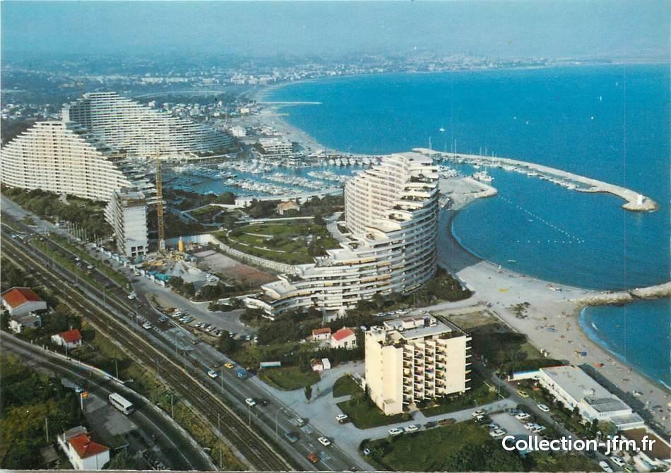 Cpsm france 06 villeneuve loubet plage marina baie des for Piscine marina baie des anges