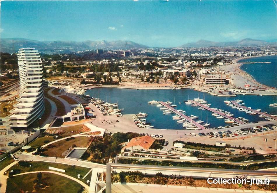 Cpsm France 06 Marina Baie Des Anges Le Port Et