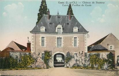 """CPA FRANCE 41 """"Comte, Chateau de Saumery"""""""