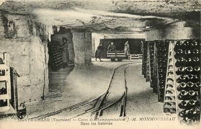 """CPA FRANCE 41 """"Montrichard, caves à vin"""""""