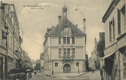 """CPA FRANCE 41 """"Montrichard, Hotel de ville"""""""