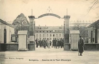 """CPA FRANCE 22 """"Guingamp, caserne de la Tour d'Auvergne"""""""