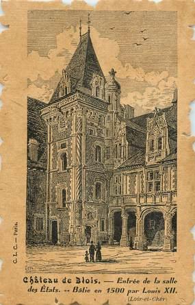 """CPA FRANCE 41 """"Chateau de Blois"""""""