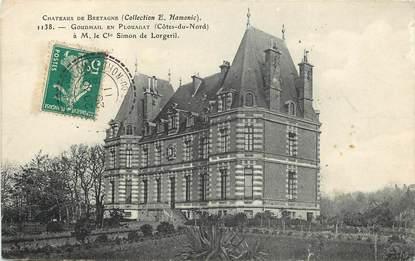 """CPA FRANCE 22 """"Goudmail en Plouagat, le chateau"""""""