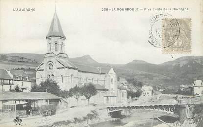 """/ CPA FRANCE 63 """"La Bourboule, rive droite de la Dordogne"""""""