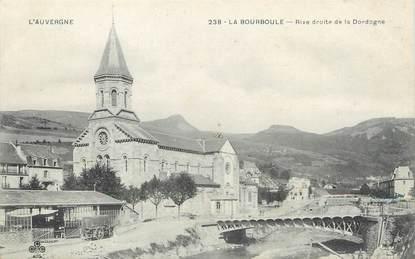 """/ CPA FRANCE 63 """"La Bourboule, rive droite de la Dordogne """""""