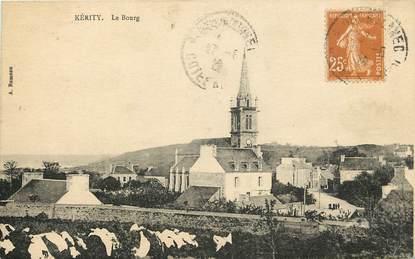 """CPA FRANCE 22 """"Kérity, le bourg et l'église"""""""