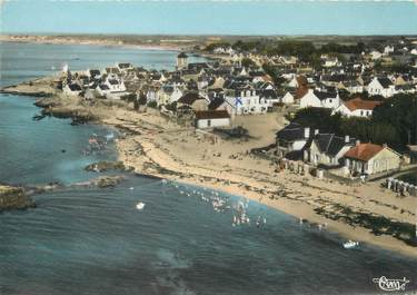 """/ CPSM FRANCE 44 """"Piriac sur Mer, la plage vue aérienne"""""""