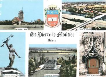 """/ CPSM FRANCE 58 """"Saint Pierre le Moûtier"""""""