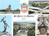 """58 Nievre / CPSM FRANCE 58 """"Saint Pierre le Moûtier"""""""