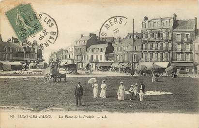 "CPA FRANCE 80 ""Mers"""