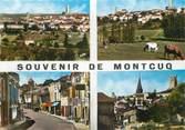 """46 Lot / CPSM FRANCE 46 """"Montcuq, vue générale"""""""