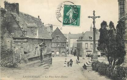 """/ CPA FRANCE 29 """"Landerneau, la place Saint Thomas"""""""