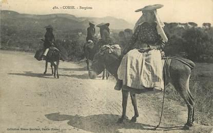 """CPA FRANCE 20 """"Corse, Bergères"""""""