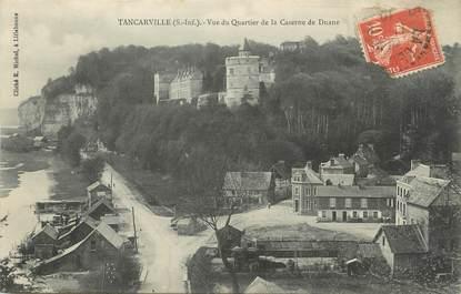"""/ CPA FRANCE 76 """"Tancarville, vue du quartier de la caserne de Duane """""""
