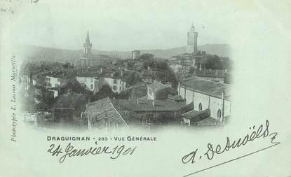 """/ CPA FRANCE 83 """"Draguignan, vue générale """""""