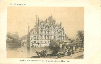 """/ CPA FRANCE 27 """"Château de Beaumesnil"""""""