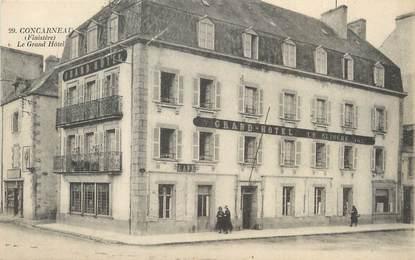 """/ CPA FRANCE 29 """"Concarneau, le grand Hôtel"""""""