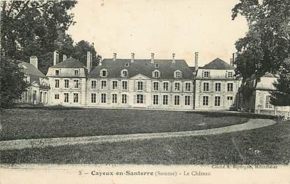 """CPA FRANCE 80 """"Cayeux en Santerre"""""""