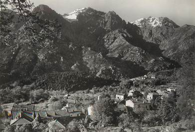 """/ CPSM FRANCE 20 """"Corse, Bocognano et la Chaine du Mont  d'Oro"""""""