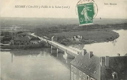 "CPA FRANCE 21 ""Seurre, Vallée de la Saône"""