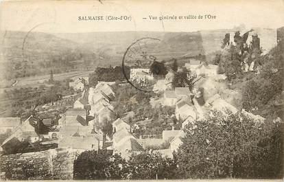 """CPA FRANCE 21 """"Salmaise, vue générale et vallée de l'Oze"""""""