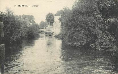 """CPA FRANCE 80 """"Moreuil"""""""