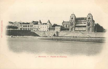 """/ CPA FRANCE 17 """"Royan, façade de Foncillon"""""""