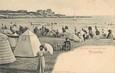 """/ CPA FRANCE 17 """"Pontaillac, la plage à l'heure des Bains"""""""