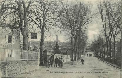 """CPA FRANCE 79 """"Bressuire, arrivée par la route de Nantes"""""""