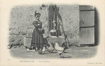 """/ CPA FRANCE 03 """"Bourbonnais, une fermière"""""""