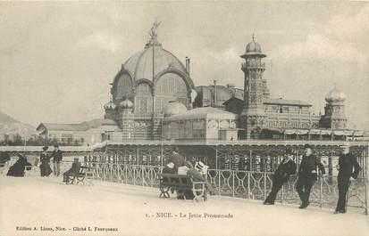 "/ CPA FRANCE 06 ""Nice, la jetée promenade"""