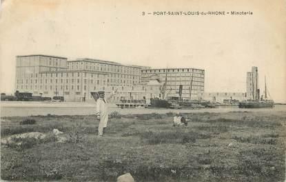 """/ CPA FRANCE 13 """"Port Saint Louis du Rhône, minoterie """""""